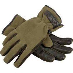 Blaser Fleece-Handschuhe Kesztyű Oliv-Melange L