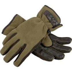 Blaser Fleece-Handschuhe Kesztyű Oliv-Melange M
