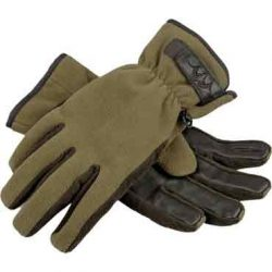 Blaser Fleece-Handschuhe Kesztyű Oliv-Melange XL