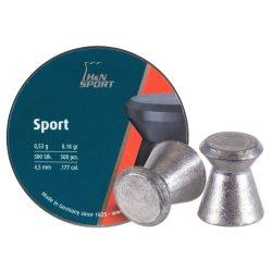H&N Diabolo Sport 4.5mm Léglövedék