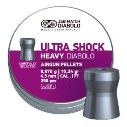 JSB Ultrashock Heavy 4.5mm Léglövedék