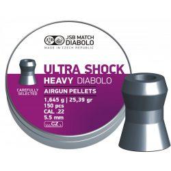 JSB Ultrashock Heavy 5.5mm Léglövedék