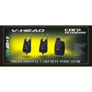 Carp Academy V-Head kapásjelző szett 2+1