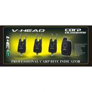 Carp Academy V-Head kapásjelző szett 3+1