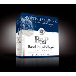 BASCHIERI & PELLAGRI 12/70 SPORTING & COMPAK SHORT RANGE
