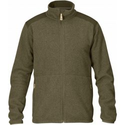 FJALLRAVEN STEN FLEECE DARK OLIVE XS
