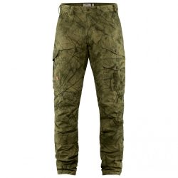 FJALLRAVEN BARENTS PRO HUNT NADRÁG GREEN CAMO 50