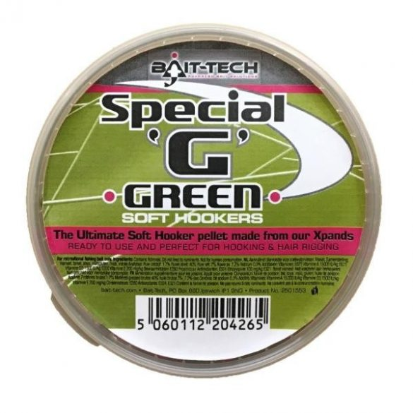 Bait-Tech Special G Green Soft Pellet