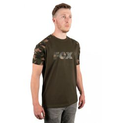Fox Khaki/Camo T-Shirt M Póló