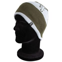 Fox Beanie Hat sapka Green/Silver