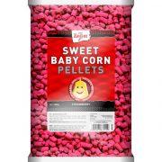 Carp Zoom Baby Corn Pellet Strawberry Kukorica Pelllet Eper