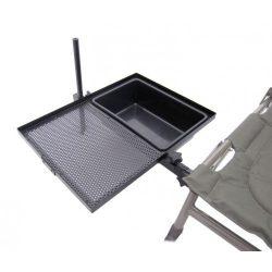 Carp Zoom székre szerelhető csalitartó tálca és tál