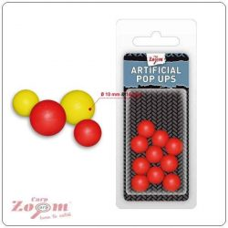 Carp Zoom Artificial Pop Up Lebegő Bojli Utánzat 10mm Sárga