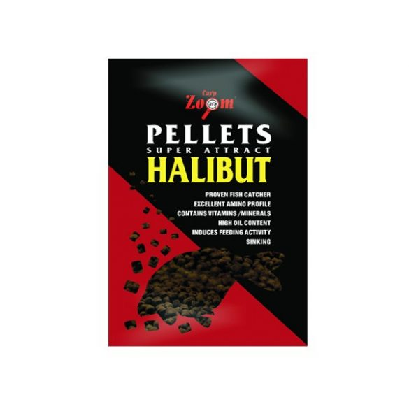 Carp Zoom Halibut Pellet 16mm