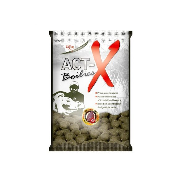 Carp Zoom Act-X Bojli - Hot Spice & Garlic 20mm