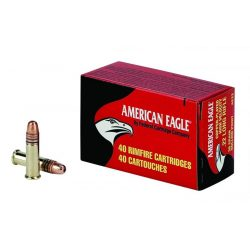 .22LR Federal American Eagle 38gr HV Copper Plated HP 40db/doboz