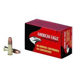.22LR Federal American Eagle 38gr HV Copper Plated HP 40db/doboz