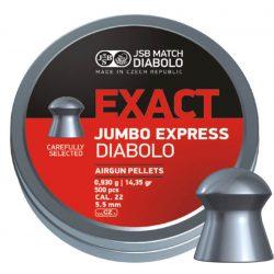 JSB DIABOLO EXACT JUMBO EXPRESS 5,5 MM A 250 0,92G