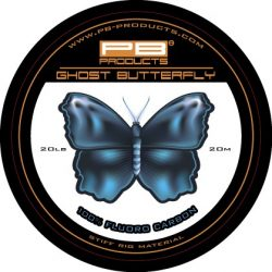 PB Products Ghost Butterfly fluorocarbon előkezsinór / 20 LB