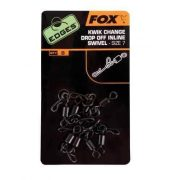 Fox Drop Off Inline Swivel - Biztonsági gyorskapocs