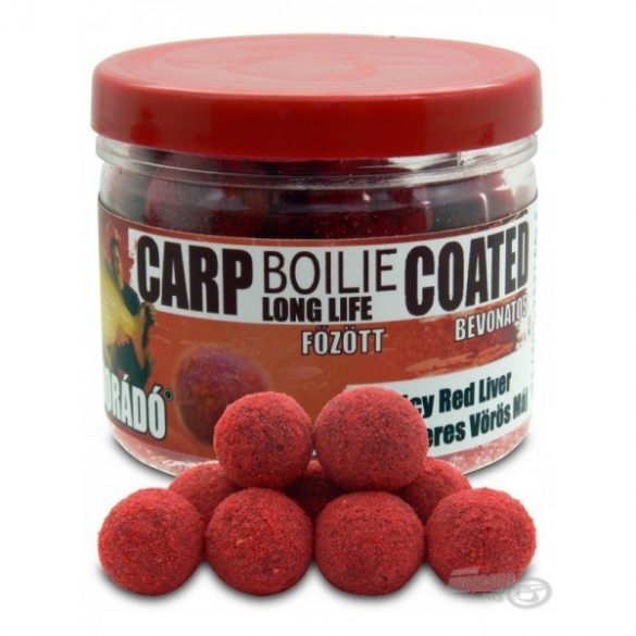 Haldorádó Carp Bojli Coated - Spicy Red Liver