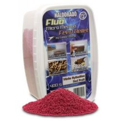 Haldorádó Fluo Micro Method Pellet - Vörös gyümölcs
