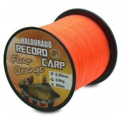 Haldorádó Record Carp Fluo Orange zsinór / 0,25mm