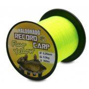 Haldorádó Record Carp Fluo Yellow zsinór / 0,25mm