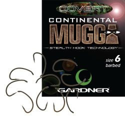 Gardner Continental Mugga horog 4-es méret