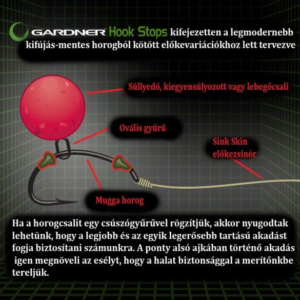 Gardner Hook Stops-Horogstopper