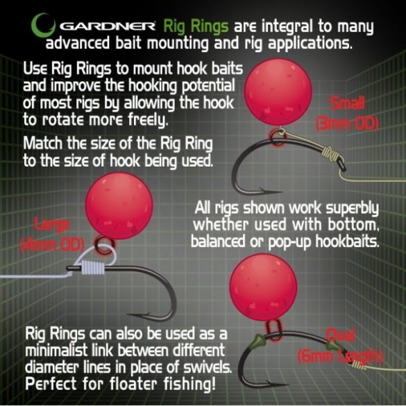 Gardner Oval Ring-ovális fémkarika