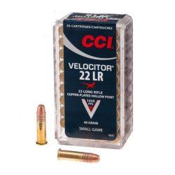 .22 LR CCI Velocitor CPHP 40gr