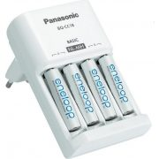 Panasonic Eneloop 4db AA 1900 mAH akkumulátor+töltő