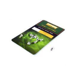 PB Products Ring Bait Screw 360 csalirögzítő karikával / víztiszta