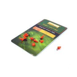 PB Products Ring Bait Screw 360 csalirögzítő karikával / piros