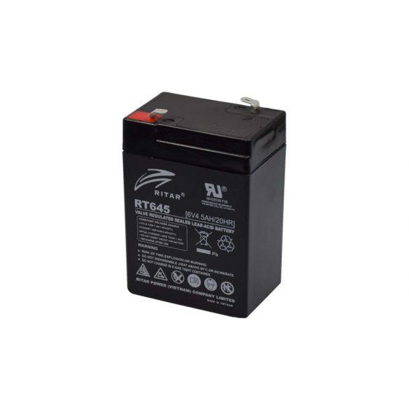 Ritar RT645 akkumulátor 6V 4.5AH
