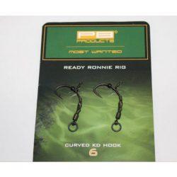 PB Product Ready Ronnie Rig Előkötött Horog 4-es Méret