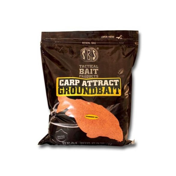 SBS Carp Attract Groundbait-Strawberry Jam