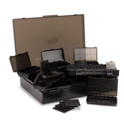 NASH BOX LOGIC LARGE TACKLE BOX LOADED