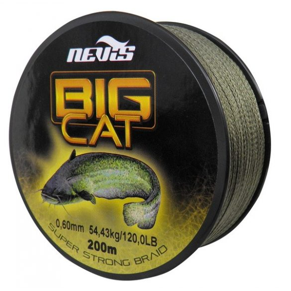 Nevis Big Cat Fonott Zsinór 200m 0.60mm