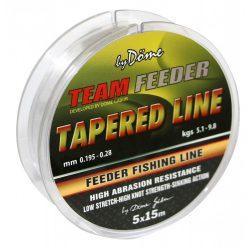 Team Feeder Tapered Leader Dobóelőke 5×15m 0.20 - 0.31MM