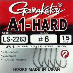 Gamakatsu Ls 2263 A1 Hard 8-as méret