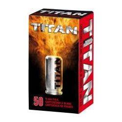 Perfecta Titan 9mm PAK riasztó töltény
