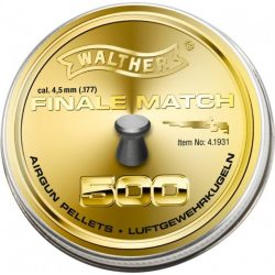 Walther Finale Match 4.5mm 500db