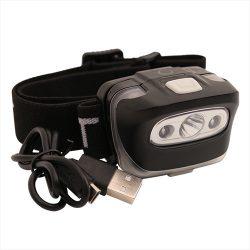 ATT Pulsar USB Head Torch - tölthető fejlámpa