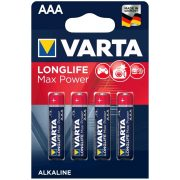 Varta Longlife Max Power AAA elem 4db/cs