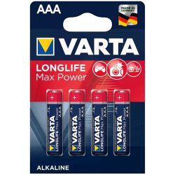 Varta Longlife Max Power AAA elem 4db/cs