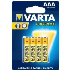 Varta Superlife AAA mikro ceruza elem 4db/cs