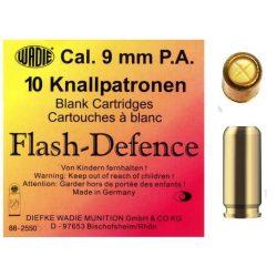 Wadie 9mm PA Flash Defence riasztó töltény